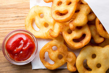 Funny Faces Of Fried Potatoes