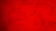 canvas print picture - bright red paint texture