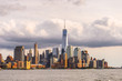Architecture of New York City, USA. New York is the most populous city in the United States