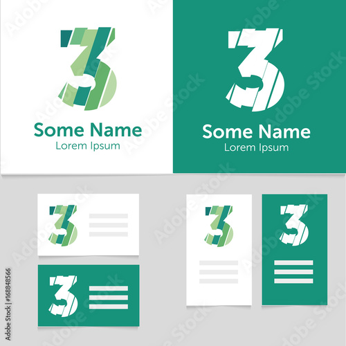 Editable business card template with 3 number logoctor editable business card template with 3 number logoctor illustrationeps10 wajeb Choice Image