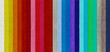 canvas print picture Spectrum from the colored beads