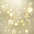 Gold New year Abstract Glitter Defocused Background. EPS 10 vector