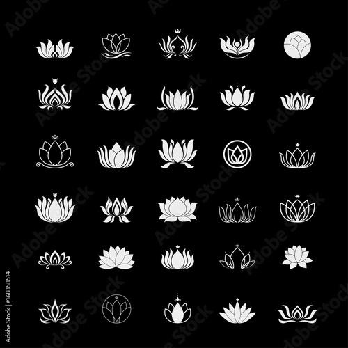 lotus logo Poster Mural XXL
