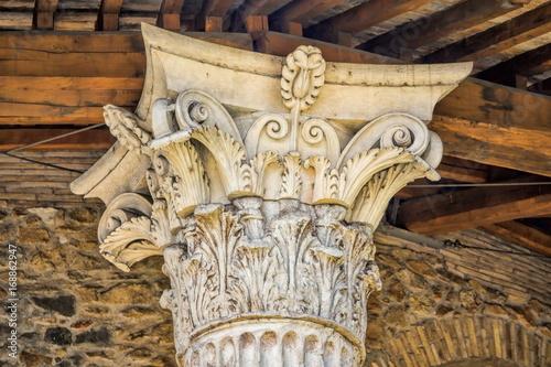 Fototapeta Rom, korinthische Säule