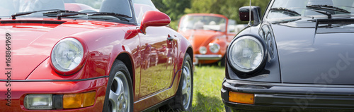 Photo Stands Vintage cars 911 Oldtimer.