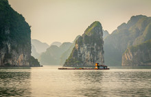 Cruising In Halong Bay, Vietnam