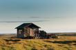 Kleines altes Gebäude auf Island