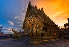 Wat Sripanton In Nan,Thailand