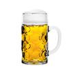canvas print picture - Maß Bier