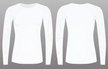 Women White Long Sleeve T Shir...