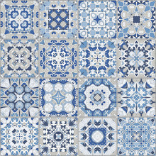 A Collection Of Ceramic Tiles ...