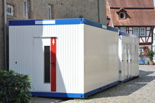 Mobile Container-Chemie-Toilet...