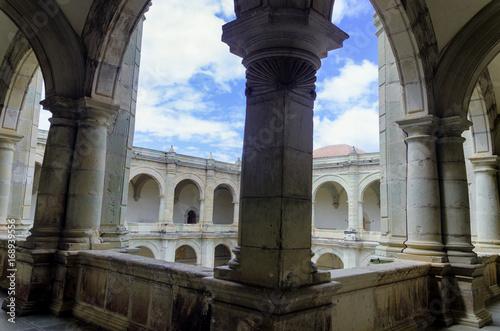 Big Arches in the Santo Domingo Monastery in Oaxaca Wallpaper Mural