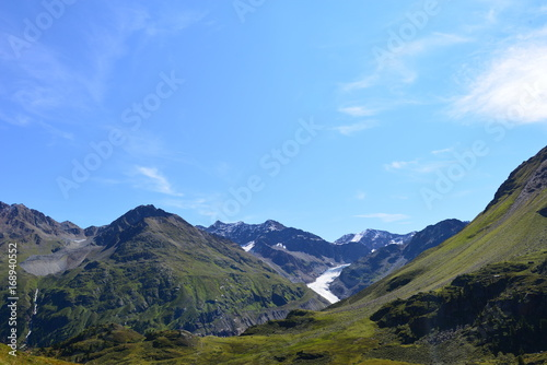 Spoed Foto op Canvas Grijze traf. Kaunertal - Ötztaler Alpen Tirol