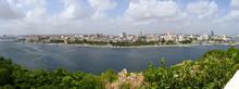 Blick Auf Havanna Von Der Festung Castillo De San Carlos De La Cabaña