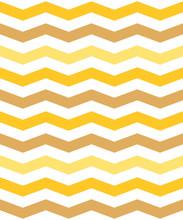 Yellow And Orange Chevron Or Zigzag Seamless Pattern