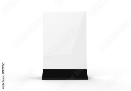 Clear Plastic And Acrylic Table Talkers Promotional Upright Menu - Plastic table tents