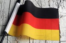 Flagge Deutschlands Ση&mu