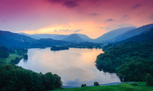 Fiery Sky Above Grasmere, The ...