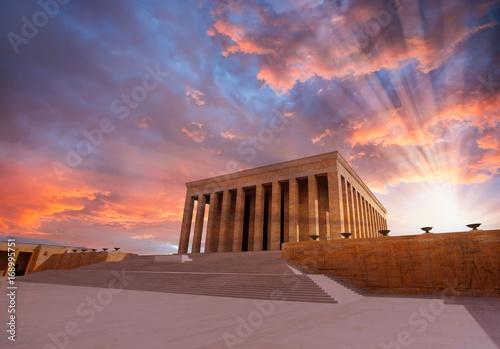 Photo Anitkabir - Mausoleum of Ataturk, Ankara Turkey