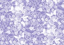 Abstract, Floral Background, S...