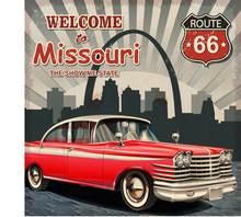 Welcome To Missouri Retro Poster