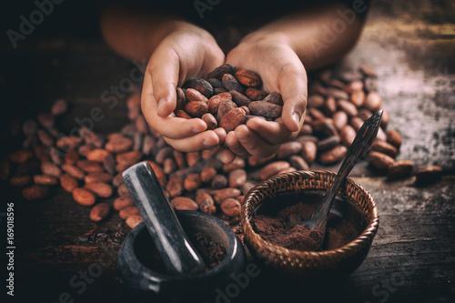 In de dag Kruiderij Roasted cocoa beans
