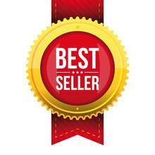 Best Seller Gold Button