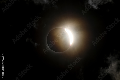 Total Solar Eclipse Diamond Ring Poster
