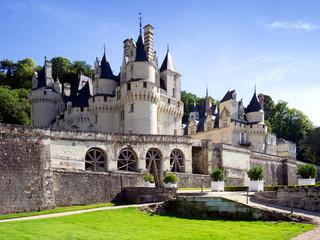 Usse Castle, a fairy-tale chateau in the Loire Valley aka Sleeping Beauty Castle, France