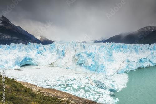Fotobehang Gletsjers Great Perito Moreno Glacier, Argentino Lake, Patagonia, Argentina