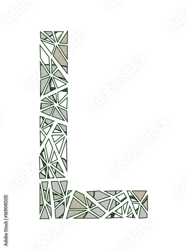 Letter L Logo Flower Design Buy This Stock Vector And Explore
