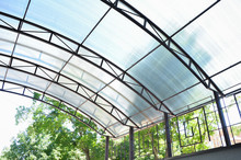 A Canopy Made Of Polycarbonate...