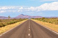 Straight Road Towards The Flin...