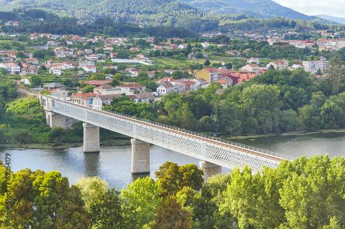 Valokuva International bridge over Minho river