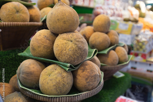 Spoed Foto op Canvas Baobab Bangkok-Thailand, 24 AUG 2017:Or Tor Kor Market in Bangkok and is ranked the 4th fresh market in the world by a famous travel guide.