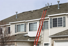 Ladder Extending To Roof For R...