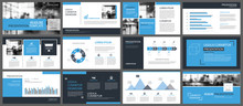 Blue Presentation Templates An...