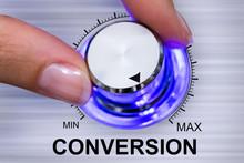 Person Adjusting Conversion