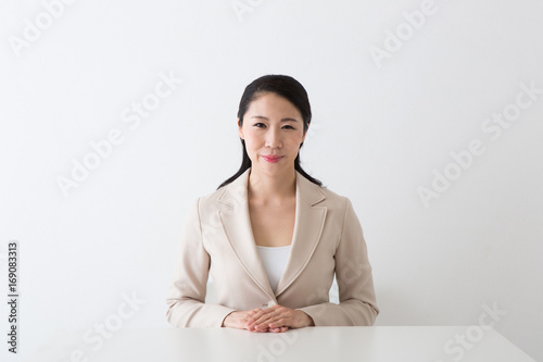 女性のポートレート Fototapet