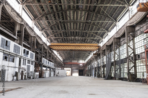 Foto op Canvas Industrial geb. interior of abandoned workshop