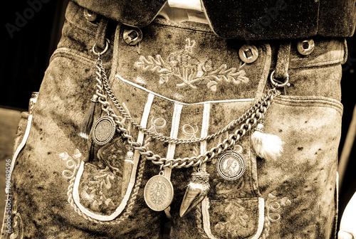 Fotografie, Obraz  bavarian trousers - krachlederne