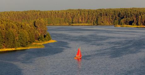 Wdzydzki Park Krajobrazowy - Kaszuby- Polska