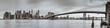 skyline - brooklyn bridge - new york