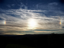 A Sundog Or Parhelia Over West Yorkshire In 2015