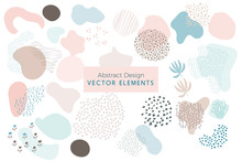 Set Of Vector Abstract Brush S...