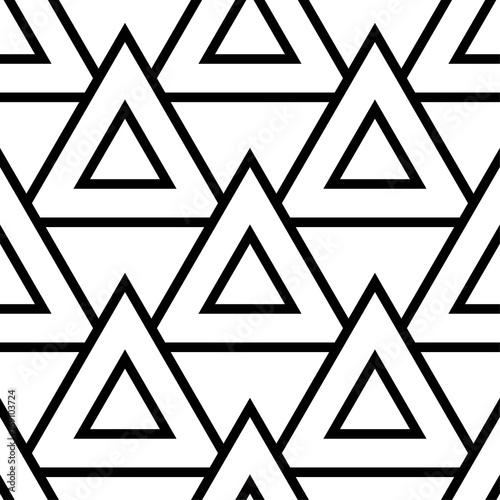 Tapety Geometryczne geometryczny-czarny-i-bialy-bezszwowy-patte