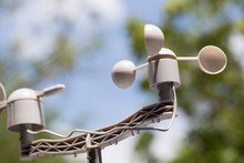 Anemometer Is A Device Used For Measuring The Speed Of Wind, And Is Also A Common Weather Station Instrument.