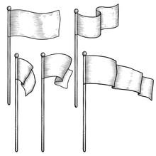 Flag Illustration, Drawing, En...