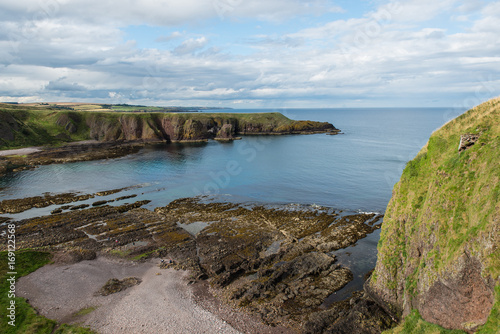 Photo View from Dunnottar Castle in Scotland
